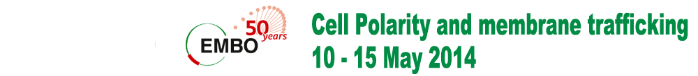 Cell Polarity and membrane trafficking, 10-15 May 2014